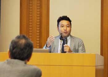 メンタージャム講演会、夏目圭介講師